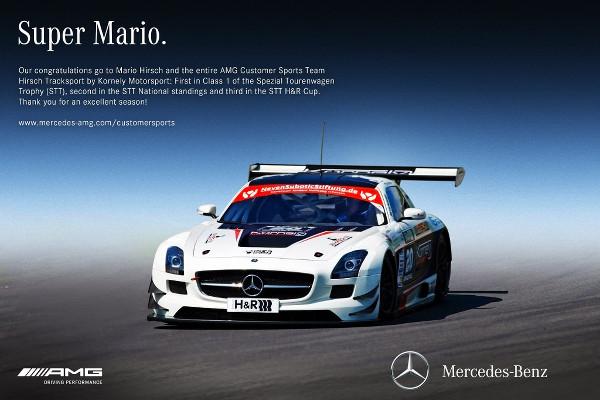 Super-Mario-AMG-Customer-Sports-Danke