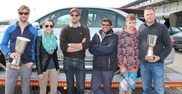 Das Team bei den MB Race Days